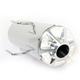 Ceramic Chrome Slip-On Muffler - 17-309-C