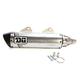 Stainless V2 Slip-On Muffler - 073-4150