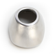 Stainless Steel Q4 Hex Replacement Rear Cone Cap - 040676