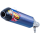 Factory 4.1 RCT Titanium Blue Anodized Slip-On Muffler w/Carbon End Cap - 041546