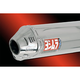 TRC Tri-Oval Slip-On Muffler with Polished Stainless Steel Muffler Sleeve - 1362275