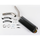 Hexagonal Slip-On Muffler with Carbon Fiber Muffler Sleeve - S-S6SO5-TC