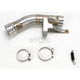 Optional Mid Pipe for Slip-On and Bolt-on Series Mufflers - L-K10SO4/1