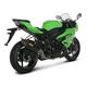 Racing Line Exhaust System w/Hexagonal Carbon Fiber Muffler - S-K6R6-ZC