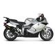 Racing Line Exhaust System w/Hexagonal Carbon Fiber Muffler - S-B13R1-RC