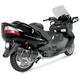 R-77 Scooter Carbon Exhaust System w/Carbon End Cap - 1190002