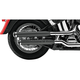 Black 3 in. Slip-On Mufflers - 6000B