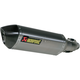 Stainless/Titanium/Carbon Slip-on Muffler - S-S6SO8-HZT