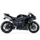 R77 Stainless/Carbon Fiber Dual Slip-Ons - 13140E0520
