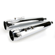4 in. True Power High-Performance Chrome Mufflers W/Chrome Tips - LA-1594-02