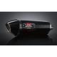 R77 Stainless/Carbon Fiber Slip-on Muffler - 1464120220