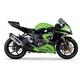R77 Stainless/Carbon Fiber Slip-on Muffler - 1464120520