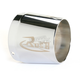 4 in. Left Tapered Logo Performance Exhaust Tip - 4022-R1L