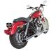 Chrome Side-Slash Slip-On Performance Mufflers - 550-0378