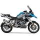 Stainless/Stainless/Carbon Fiber R-77 Slip-On Muffler - 1500120520