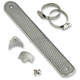 Universal Polished Scales 12 in. Heat Shield for 1 3/4 in. Pipes - 002645
