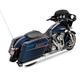 Chrome Super Sidewinder 2-into-1 Exhaust System - 550-0244