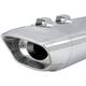 Chrome Super Sidewinder 2-into-1 End Cap - 550-0251
