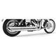 Chrome Patriot Slash Down Long Exhaust System - HD00017