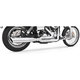 Chrome Union 2-Into-1 Exhaust System - HD00062