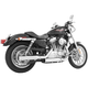 Chrome Signature Series Slip-On Mufflers - HD00197