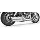 Chrome Racing Slip-On Mufflers - HD00316