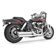 Chrome Racing Slip-On Mufflers - HD00318