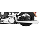 Chrome American Outlaw Dual Exhaust System - HD00288