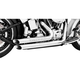 Chrome Amendment Side Slash Exhaust System - HD00248