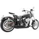 Black Amendment Side Slash Exhaust System - HD00252