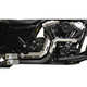 Black Fusion Exhaust System w/Chrome Heat Shields and Tips - LA-F100-02B