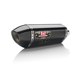 Stainless/Carbon Fiber/Carbon Fiber R77 Signature Series Slip On Muffler - 13320EJ220