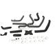 Black Tru X Headpipes - 7210406