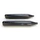 Black Performance Mufflers w/Contrast Cut Thruster End Cap - 550-0621