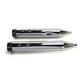 Chrome Performance Mufflers w/Contrast Cut Tracer End Cap - 550-0623