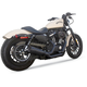 Black Ceramic Fifty-Two 2 Into 1 Exhaust System - 11-1008