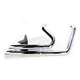 Chrome Upstarts Exhaust System - 13-1007