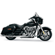 Chrome Long Style High-Performance 2-Into-1 Exhaust System with Heat Shields - 1064S