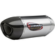 Stainless Steel/Stainless Steel/Carbon Fiber Alpha Muffler - 148002M520