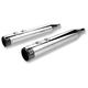 Chrome High Performance Muffler w/Billet Tip - 202720