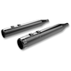 Black High Performance Muffler w/Billet Tip - 202820
