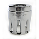 Chrome 4 in. Merge Style Machined End Cap - 900-0127