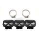Black Skull Heat Shield - 30-0466