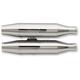 Chrome Slip-On Mufflers - 628-21130