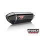 Stainless/ Carbon Fiber Works Finish R-77 Race Series Exhaust System w/ Carbon Fiber End Cap - 13700AJ220