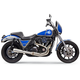 Road Rage Type III Stainless 2-Into-1 Exhaust - 1FXRSS