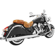 Chrome 4 in. Eagle Slip-On Mufflers - IN00044
