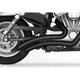 Black Ceramic Sharp Curve Radius Series Exhaust System - MK00004