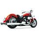 Chrome Race Full Exhaust System w/Black Tip - MY00104