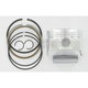 High-Performance Piston Assembly - 75.5mm Bore - 4466M07550